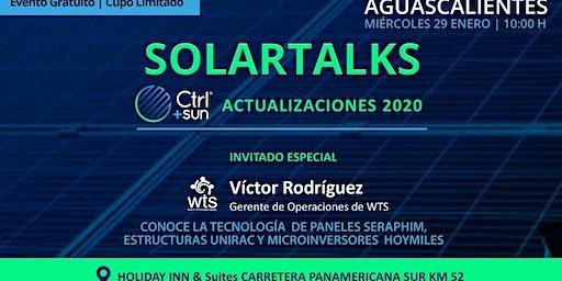SolarTalks / Actualizaciones 2020 de Ctrl+Sun y descubre las tecnologías de la distribuidora WTS