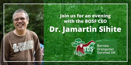 Join us for an evening with BOSF CEO, Dr. Jamartin Sihite tickets
