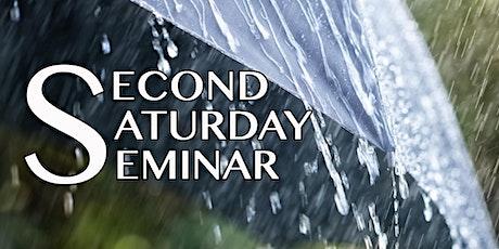 Second Saturday Seminar: Practical  & Creative Solutions For Utilizing Rain tickets