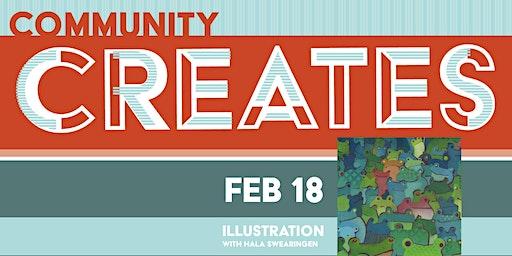 Community Creates: Illustration with Hala Swearingen
