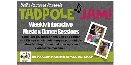 Tadpole Jam at Little Footprints Learning Center Session #3 tickets