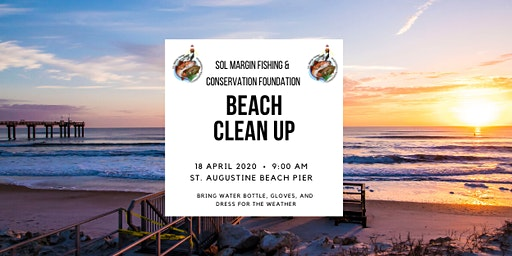 Beach Clean Up: St. Augustine Beach Pier