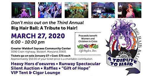3rd Annual Big Hair Ball - A Tribute to Hair 2020