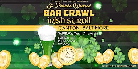 Lindy Promo's Baltimore Canton St. Patrick's Day Irish Stroll tickets