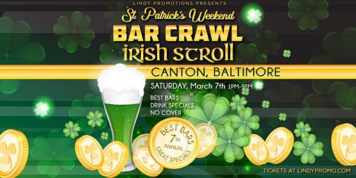 Lindy Promo's Baltimore Canton St. Patrick's Day Irish Stroll