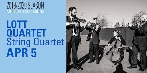 Musical Excursions: LOTT  String Quartet