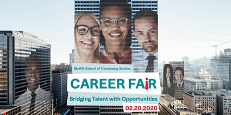 McGill School of Continuing Studies Career Fair  and Networking Cocktail tickets