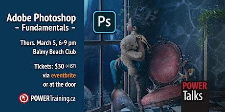 Adobe Photoshop Fundamentals tickets