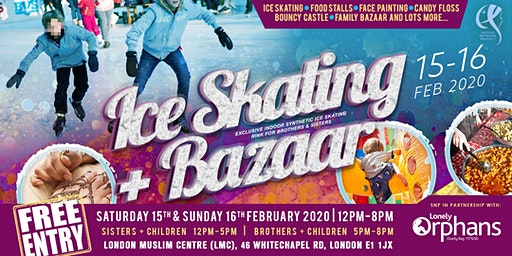 FREE ENTRY: ICE SKATING + BAZAAR