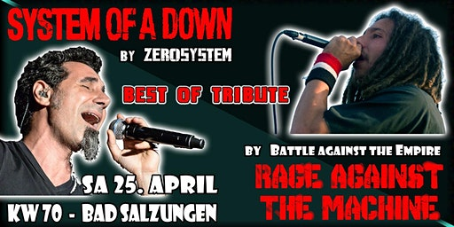 System of a Down meets Rage against the Machine /// The Best Tribute Show's / KW 70