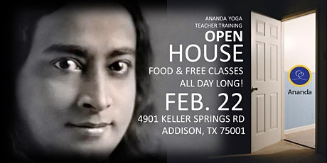 Ananda Dallas Yogananda Fest Open House tickets
