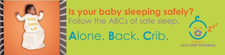 FREE Safe Sleep Program & Adult/Child/Infant CPR Certification image