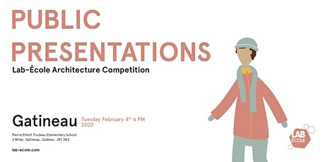 Public presentation of the architecture competition - Lab-École Gatineau tickets