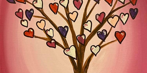 Kid's Snack'n'Paint Heart Tree