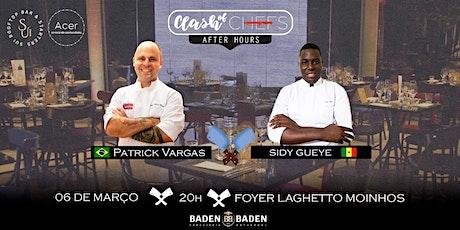 Clash of Chefs After Hours  ESCOLHA  MESA E LUGAR COMPRANDO PELO COMPUTADOR ingressos