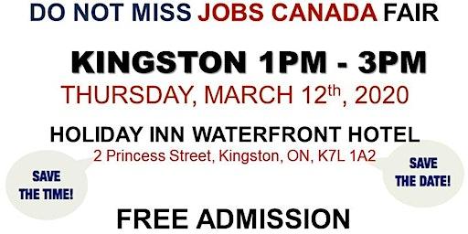 Kingston Job Fair – March 12th, 2020