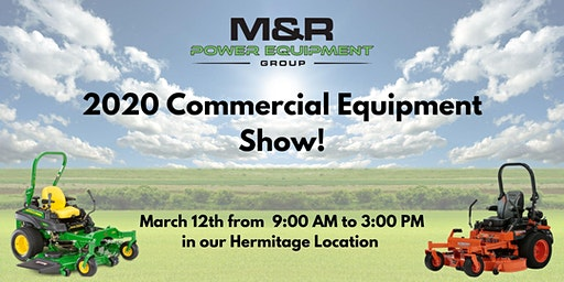 M&R Commercial Equipment Show