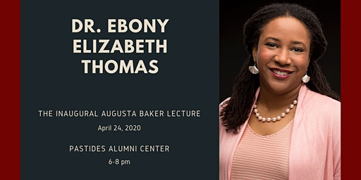 The Inaugural Augusta Baker Lecture