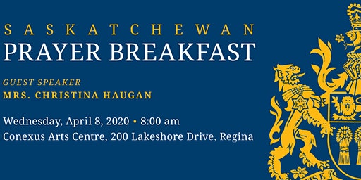 Saskatchewan Prayer Breakfast
