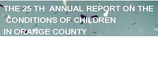 2019 Conditions of Children Report- Whole School, Whole Community, Whole Child Community Forum