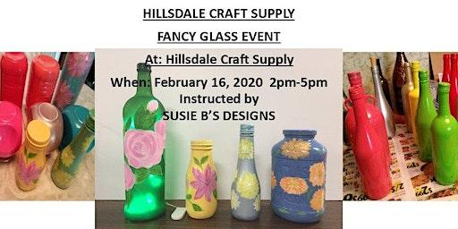 Fancy Glass & Drinks Event