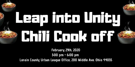 Leap into Unity Chili Cook-Off tickets