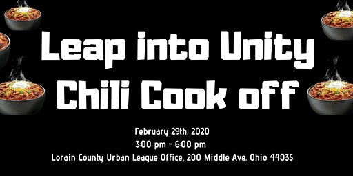 Leap into Unity Chili Cook-Off