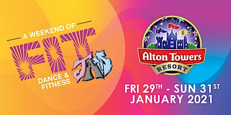 Fit JAM 2021 - Alton Towers tickets