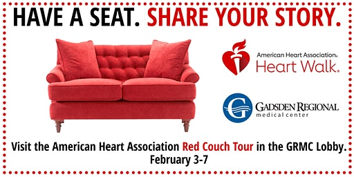 Gadsden Regional Medical Center Red Couch Tour