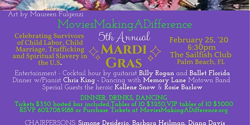 MoviesMakingADifference 5th Annual Mardi Gras!