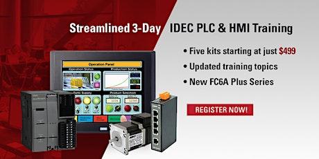 ADVANCED 3 Day PLC & HMI Training  Orlando, FL - March 17-19, 2020 tickets