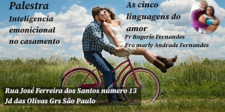 Inteligência Emocional no Casamento  as Cinco Linguagens do Amor ingressos