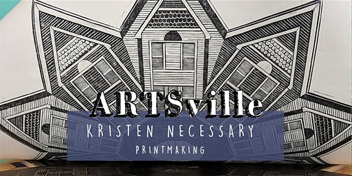 ARTSville | Relief Block Printmaking | Kristen Necessary