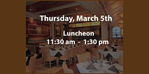 2020 March 5th Luncheon