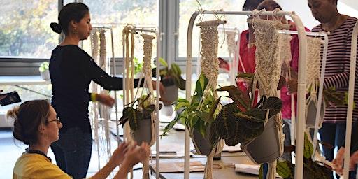 Evening Craft: Hanging Planter Macramé