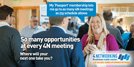 4N Business Networking Falkirk 3rd March 2020 tickets