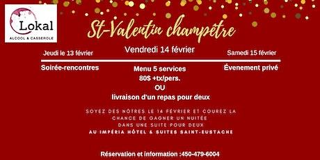 St-Valentin champêtre au Lokal billets