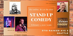 Stand Up Comedy Show: February 1st