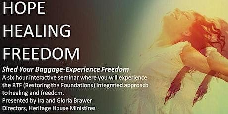 Hope, Healing and Freedom Seminar tickets