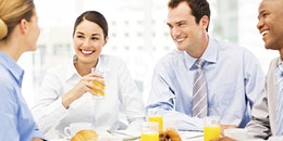 Breakfast with PricewaterhouseCoopers' Kelly Barnes