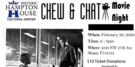 Chew and Chat Movie Night: For The Love of Ivy tickets