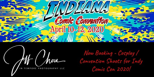 Cosplay Photography Mini-Sessions at Indy Comic Convention 2020