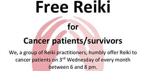 FREE REIKI share for cancer patients and survivors tickets