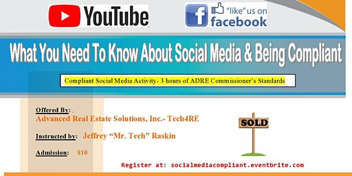 Social Media and Being Compliant