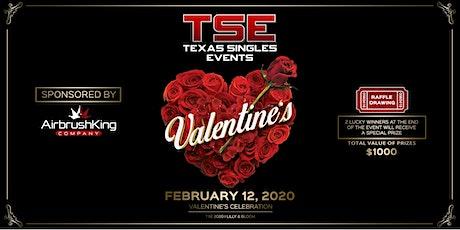 Texas Singles Event Valentines 2020  tickets