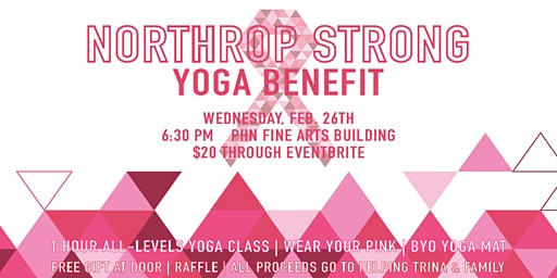 Northrop Strong Yoga Benefit