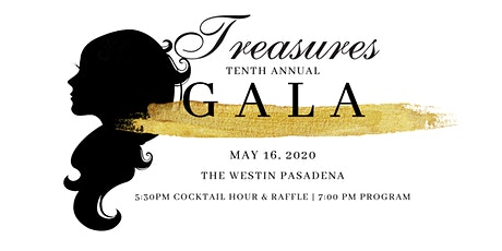 Treasures 10th Annual Gala tickets