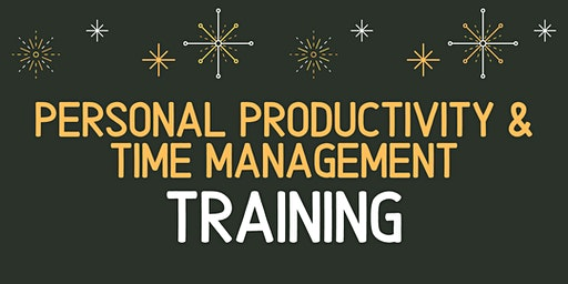 Personal Productivity & Time Management Training