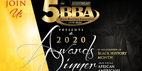 2020 Salute To Black History Annual Awards Dinner tickets