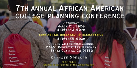 The 7th Annual African American College Planning Conference  tickets